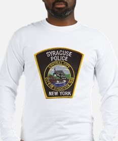 Syracuse Police Department Long Sleeve T-Shirt