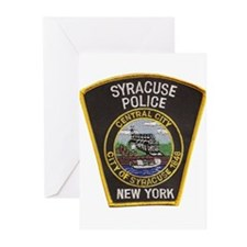 Syracuse Police Department Greeting Cards (Pk of 2