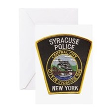 Syracuse Police Department Greeting Card