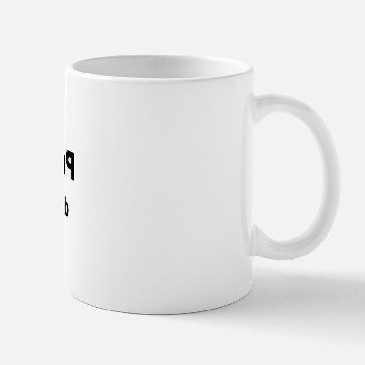 Printmakers do it in Reverse Mug