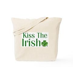 Kiss the Irish Tote Bag