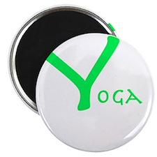 Yoga green Magnet