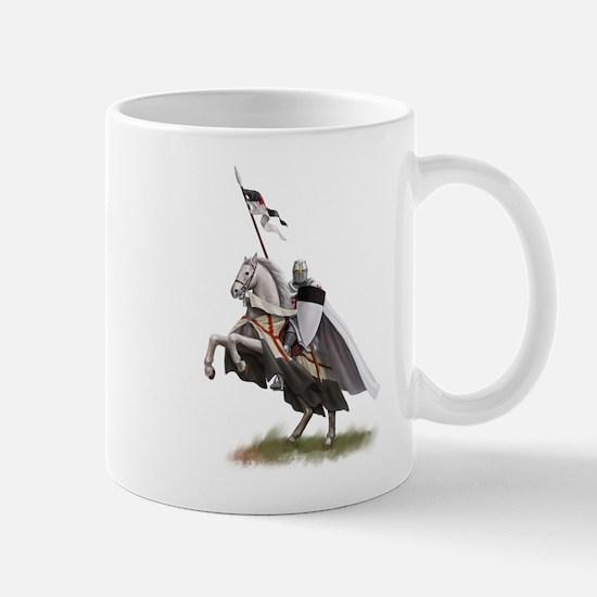 Templar on rearing horse Mug
