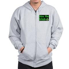 Kiss the Irish Zip Hoodie