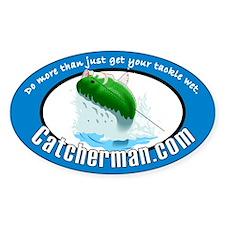 Catcherman.com Decal