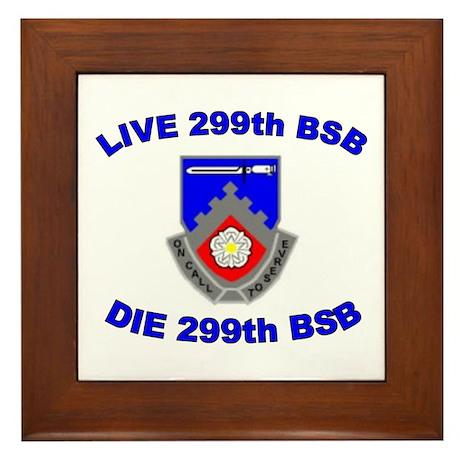 299th Brigade Support Bn Framed Tile