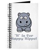 Happy hippo Journals & Spiral Notebooks