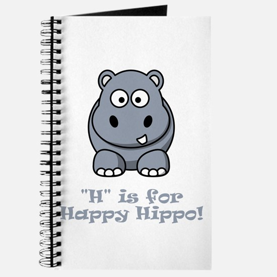 H is for Happy Hippo! Journal
