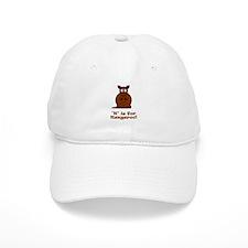 K is for Kangaroo! Baseball Cap