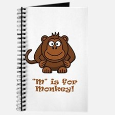 M is for Monkey! Journal
