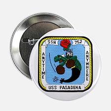 """USS Pasadena SSN 752 2.25"""" Button"""