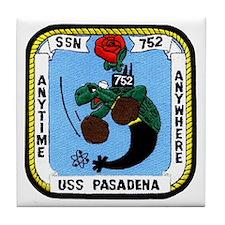 USS Pasadena SSN 752 Tile Coaster