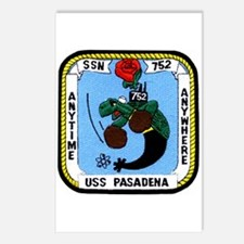 USS Pasadena SSN 752 Postcards (Package of 8)