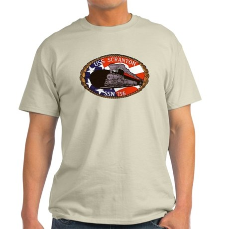 USS Scranton SSN 756 Light T-Shirt
