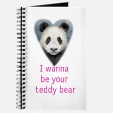 be your teddy bear Journal