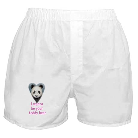be your teddy bear Boxer Shorts