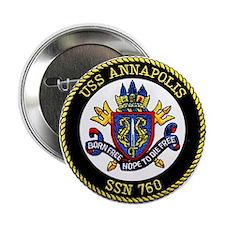 """USS Annapolis SSN 760 2.25"""" Button"""