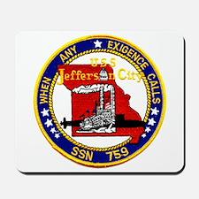 USS Jefferson City SSN 759 Mousepad