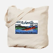 USS Asheville SSN 758 Tote Bag