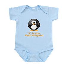 P is for Phat Penguin! Infant Bodysuit
