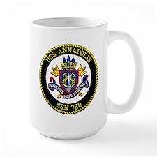 USS Annapolis SSN 760 Mug