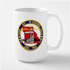 USS Jefferson City SSN 759 Large Mug