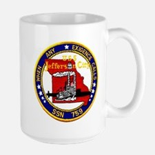 USS Jefferson City SSN 759 Mug