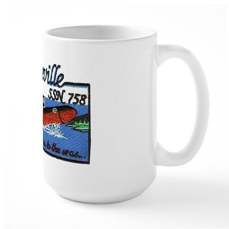 USS Asheville SSN 758 Large Mug