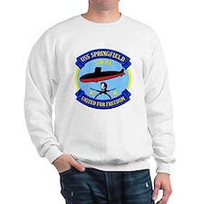 USS Springfield SSN 761 Sweatshirt