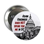 Adam Kinzinger does not Speak for Me Pin