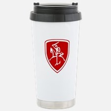 Red Vytis Travel Mug