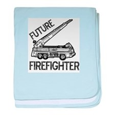 Future Firefighter baby blanket