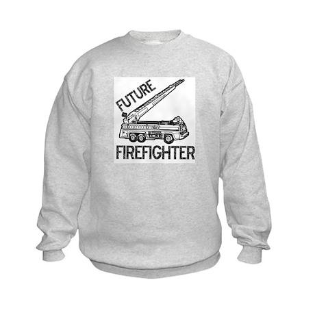 Future Firefighter Kids Sweatshirt