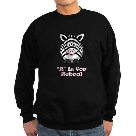 Z is for Zebra! Sweatshirt (dark)
