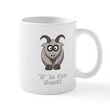 G is for Goat! Mug