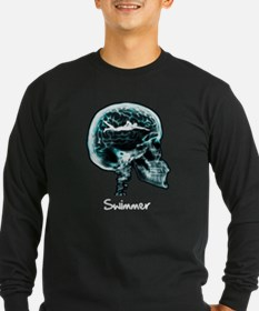 x-ray woman swimmer T