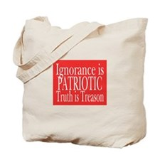 Truth is Treason (red) Tote Bag