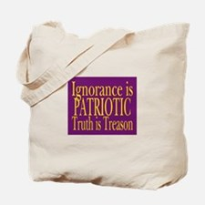 Truth is Treason (violet) Tote Bag
