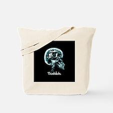 x-ray man triathlete Tote Bag