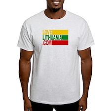 LoveLithuania.com logo T-Shirt
