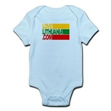 LoveLithuania.com logo Infant Bodysuit
