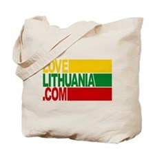 LoveLithuania.com logo Tote Bag