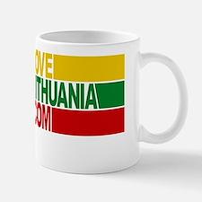 LoveLithuania.com logo Mug