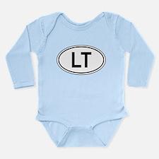 Classic LT Oval Long Sleeve Infant Bodysuit