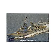 USS BERKELEY Rectangle Magnet