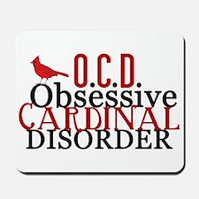 Funny Cardinal Mousepad