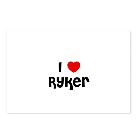 I * Ryker Postcards (Package of 8)