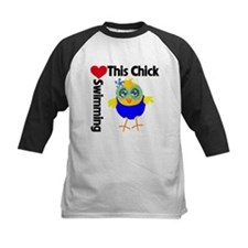 This Chick Loves Swimming v2 Tee