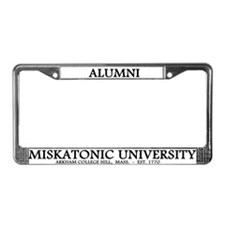 Miskatonic University License Plate Frame