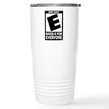 Rated E Disc Golf Travel Mug